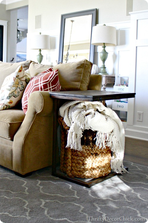 Everett Foyer Table Uk : Family room details and sources from thrifty decor chick