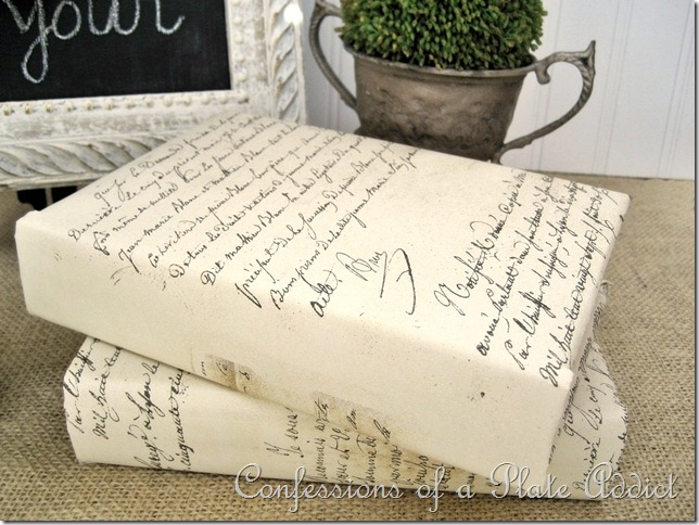French Script Books