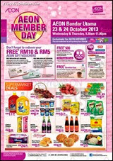 AEON Member Day Bandar Utama 2013 Malaysia Deals Offer Shopping EverydayOnSales