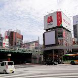 shinjuku crossing in Tokyo, Tokyo, Japan