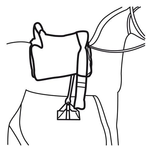Dibujos de silla de caballo para colorear montura - Sillas para pintar ...