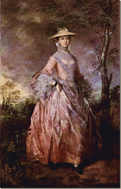 Thomas Gainsborough, Portrait