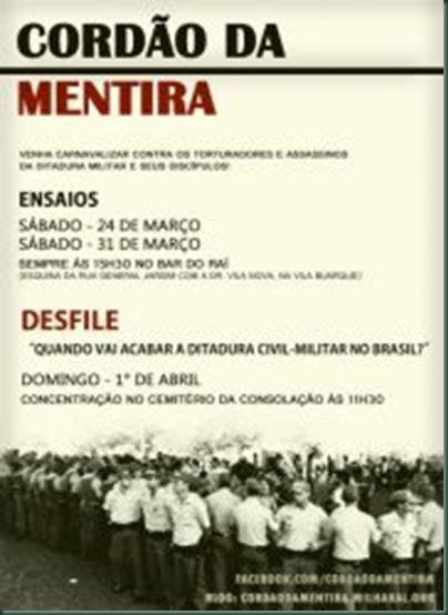 ECLA-CORDÃO DA MENTIRA
