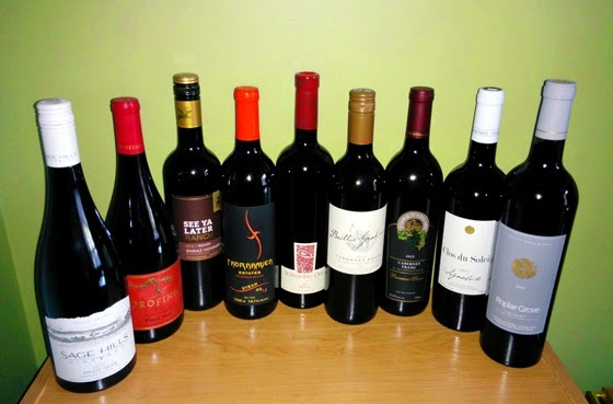October 2014 BC wine collectibles
