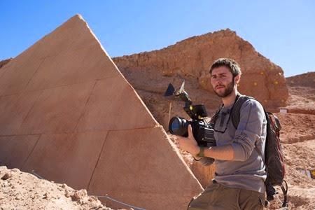 James Buckey in The Pyramid