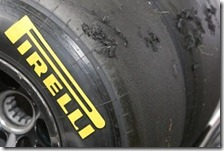 Blistering sulle gomme Pirelli