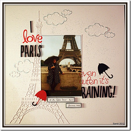 12 Paris in the rain