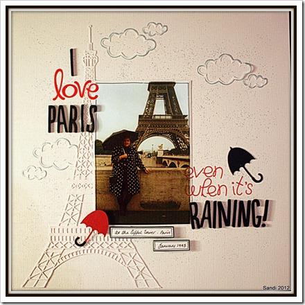12 Paris in the rain