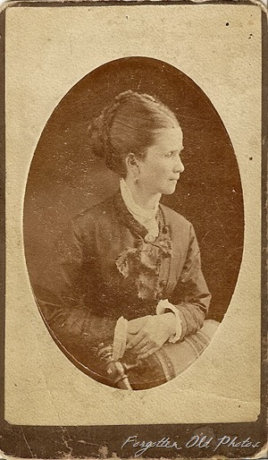 Canadian Lady Cdv Solway