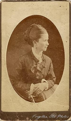 Canadian Lady Cdv Solway