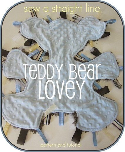 button teddy bear lovey