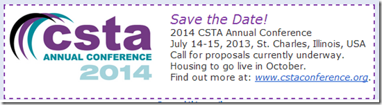 CSTA Conference image
