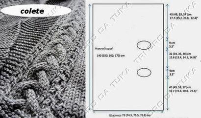 chaleco tejido en una pieza plantilla2