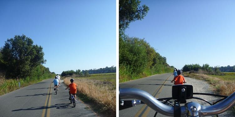 biking at newport back bay 2