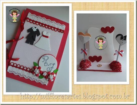 Caderno e Porta Caneta Kit Joyce 1