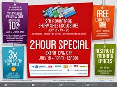 SM 3 day Sale July 03