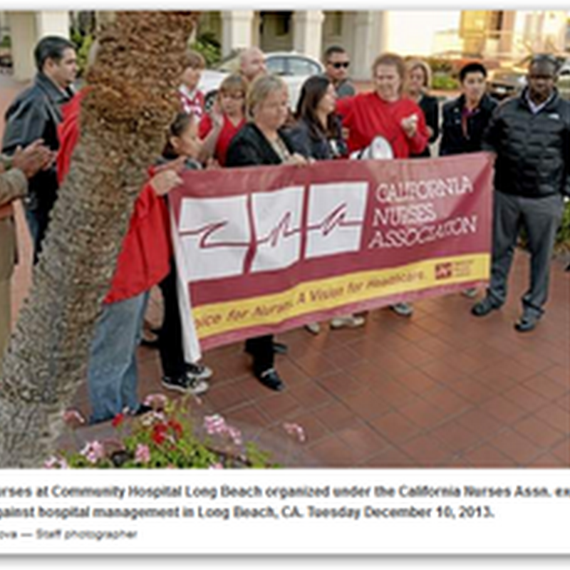 Community Hospital of Long Beach and California Nurses Association Calling for Increased Staffing and Wages, Not Equal to the Other Hospitals in the MemorialCare System