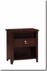 92-143 Alston 1 dr nightstand for bedroom no2 used because of size