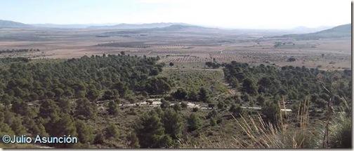 Panorámica desde la Cueva del Mediodía - Monte Arabí