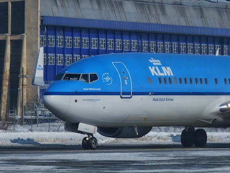 Flying Blue: KLM la Bucuresti