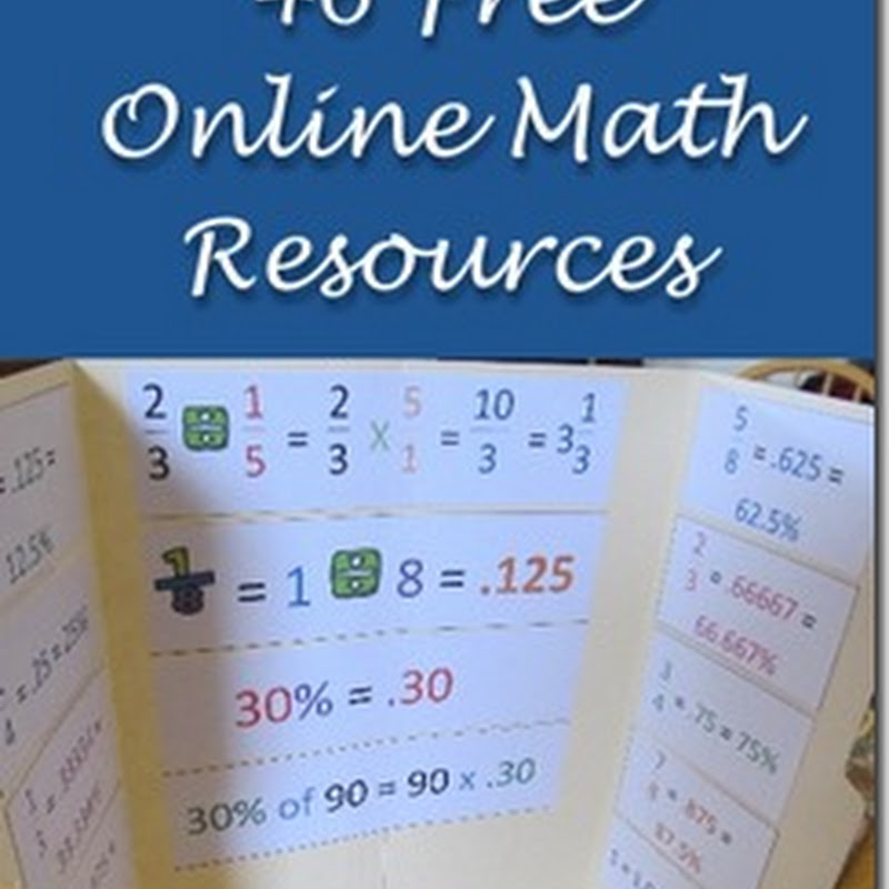 Homeschooling Hearts Minds 46 Free Homeschool Math Resources