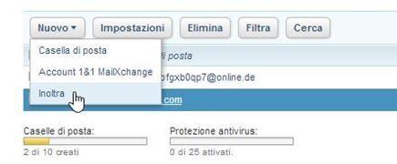 configurazione-indirizzo-email