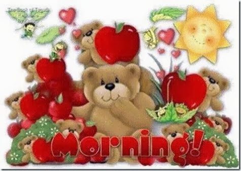 Nalle morning
