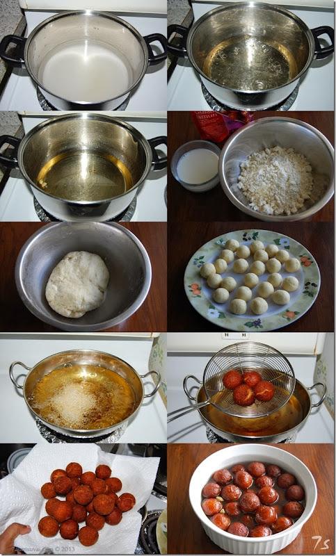 Gulab jamun process
