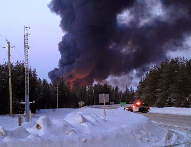 train derailment gogama mar 7 15
