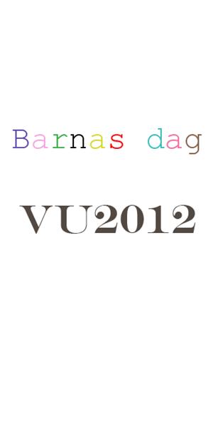 barnas dag vu2012