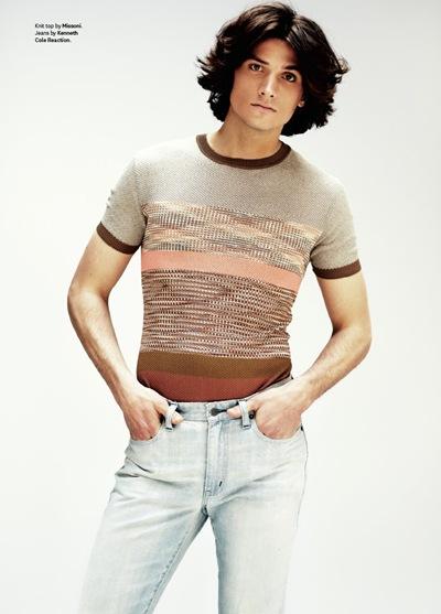 Matt Clunan by Jason Kim for OUT, May 2012.  Stylist | Grant Woolhead