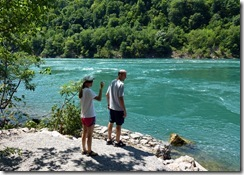 Amanda and Brandon at the Niagara River