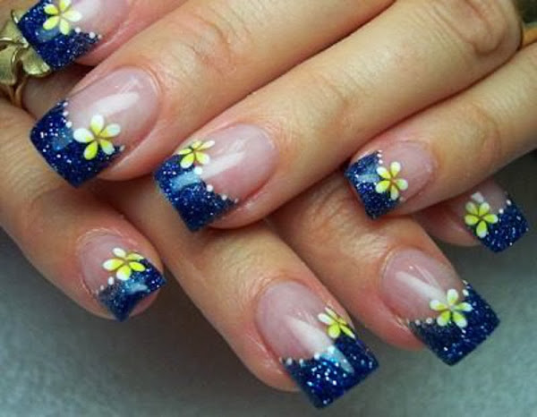 45 Cool Acrylic Nail Designs 2013 36 Gel Acrylic Nail Designs