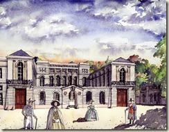 Hotel Radix de Sainte Foye vers 1780