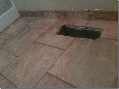back bath flooring