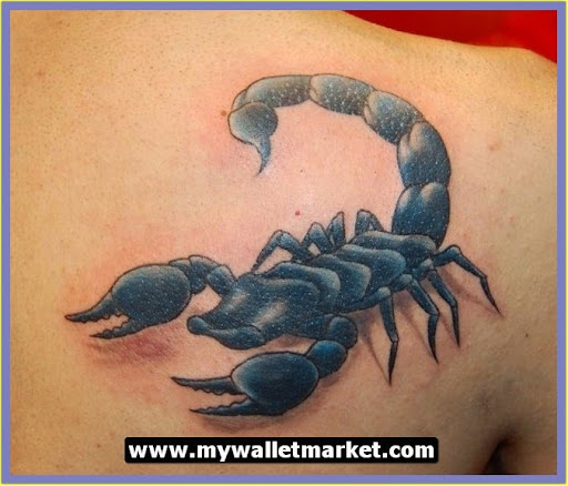 Tattoo designs for women simple for Simple scorpion tattoo