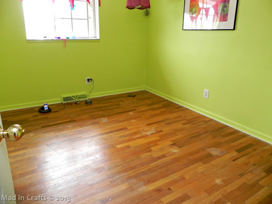 hardwood floors underneath
