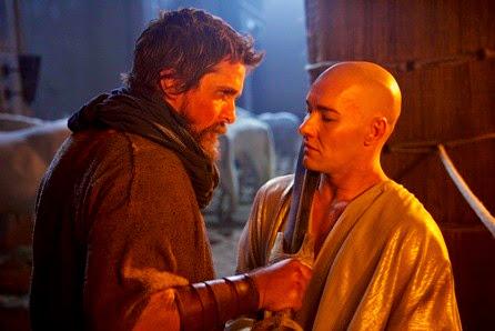 christian bale and joel edgerton in EXODUS