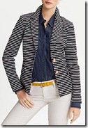 Banana Republic striped jacket