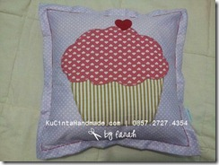 Cupcake Applique for Pillow Awis