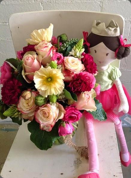 children 1185081_10151614980643059_1159171800_ Nina Ballerina for a new baby named Nina  zinnnia floral dsigns