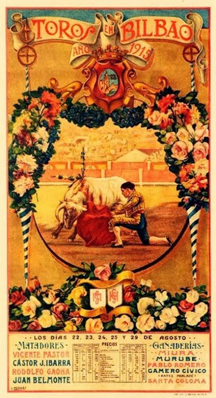 cartel bilbao 1915