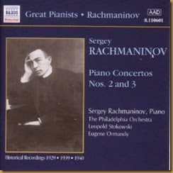 Rachmaninov Conciertos piano 2 3 Naxos