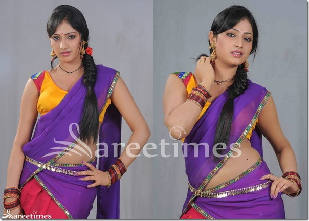 Hari_Priya_Purple_Half_Saree