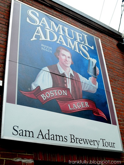Sam Adams Boston Brewery tour