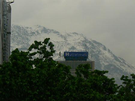North of Teheran: Tochal mountain