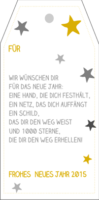 Gluechwunschkarte