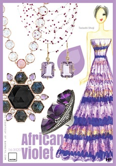 Pantone 2013 Spring Colors in African Violet