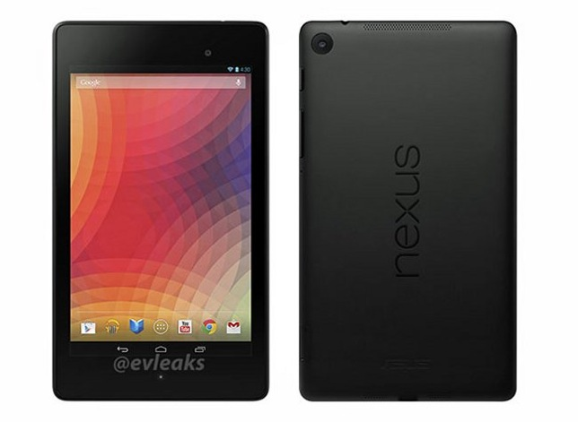 New nexus 7 press