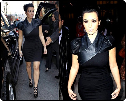 Kim-LAMB-Nancy-Leather-Mix-Dress